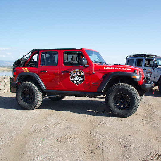 2018 Jeep Wrangler Rubicon JL (Red Jeep)