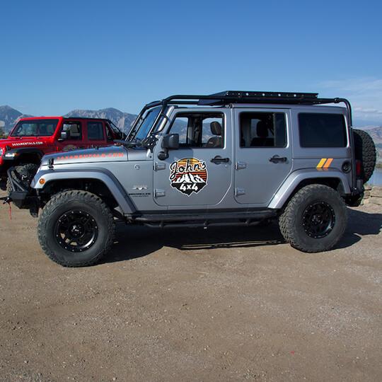 2017 Jeep Wrangler Sahara JK (Silver Jeep)